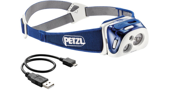 Petzl Reactik Headlamp Blue